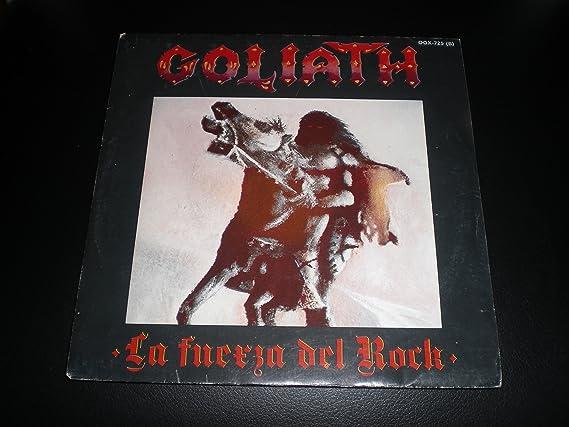 Goliath La Fuerza Del Rock Vinyl, Single, 7