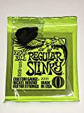 Ernie Ball Regular Slinky Electric Guitar Strings - includes 6 free plectrums