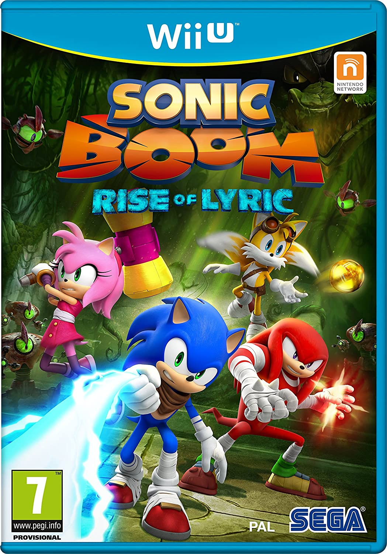 Sonic Boom: Rise of Lyric (Nintendo WII U) [Importación Inglesa]