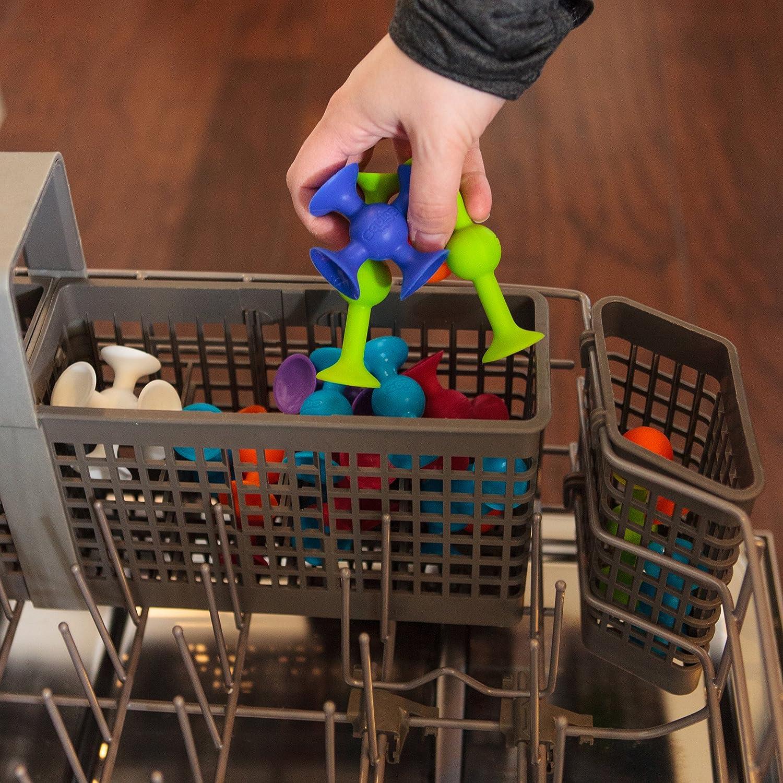Amazon.com: Fat Brain Toys Squigz Starter Set, 24 Piece: Toys & Games