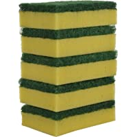 Brite Guard Polyester Multipurpose Scrub Sponge (Green, 30-Piece)