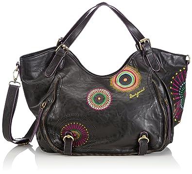 bc0b291014 Desigual Women Bols Rotterdam Audrey Shoulder Bags 46X51916034U Brown (6034)