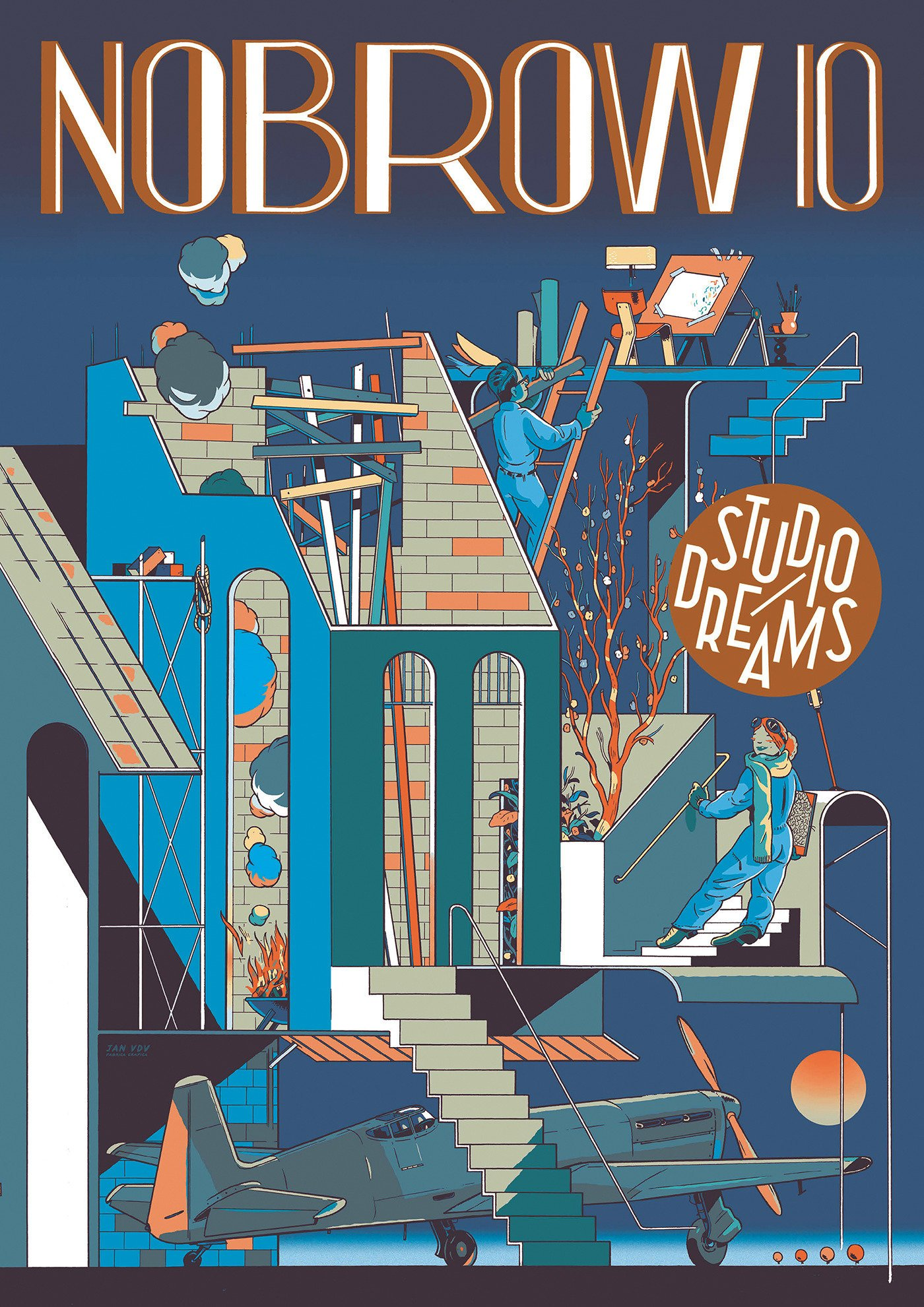 Nobrow 10: Studio Dreams: Nobrow Magazine by Nobrow
