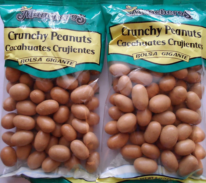 Amazon.com : Muncheros Crunchy Peanuts Cacahuates Crujientes Bolsa Gigante - 2 Pack : Grocery & Gourmet Food