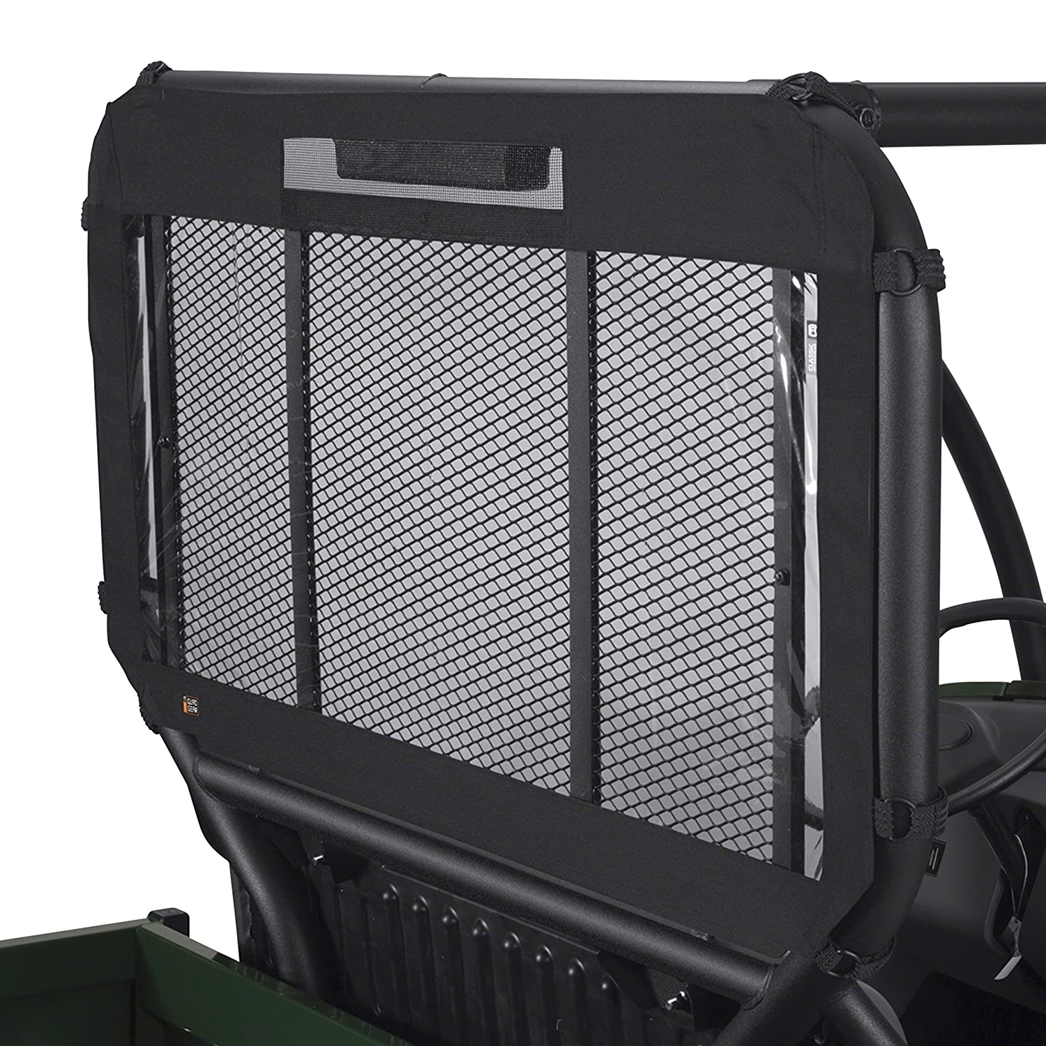 Classic Accessories 18-103-010401-00 Black QuadGear UTV Rear Window StealStreet (Home) SS-SMS-4008170