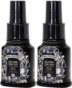 Poo-Pourri Royal Flush Before You Go Toilet Spray 1.4 Ounce Bottle, 2 Pack