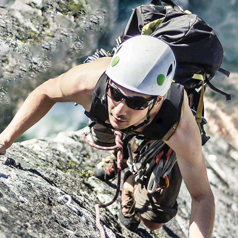 Azarxis Belay Device 25KN Safety Descender Rappelling Device ATC Guide Mountain Rock Climbing Equipment Strong Durable