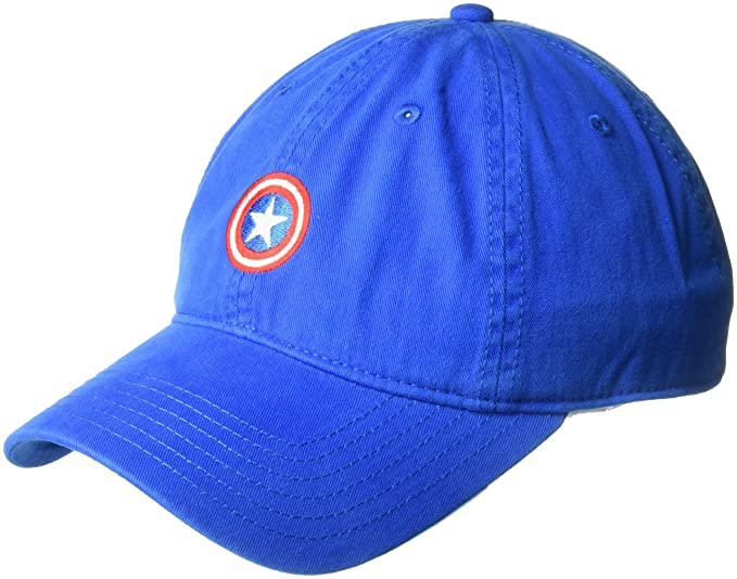 0b5690ed7b44a Amazon.com  Marvel Captain America Baseball Cap  Clothing
