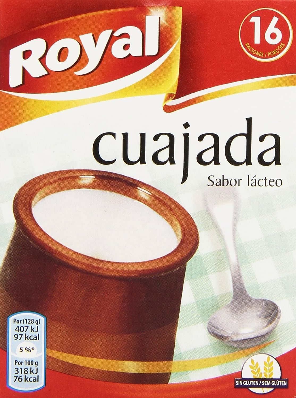 Royal - Cuajada - Sabor lácteo - 16 raciones