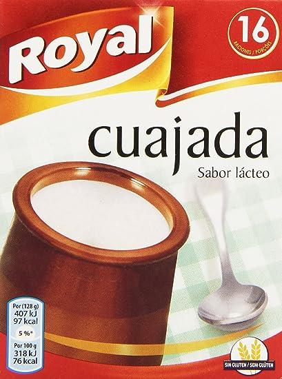 Royal Cuajada con Sabor a Lácteo - 16 Raciones