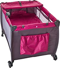 Safety 1st Cuna de Viaje Sweet Dreams, color Fucsia