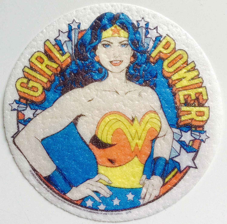 30 Wonder Woman Cupcake Edible Wafer Paper Birthday Cake Decoration Topper #1