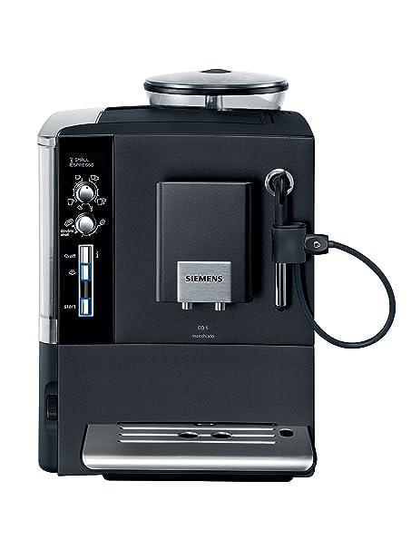 Siemens Te503209Rw - Cafetera automática, 1600W, 2 tazas, 1.7L, 15 ...