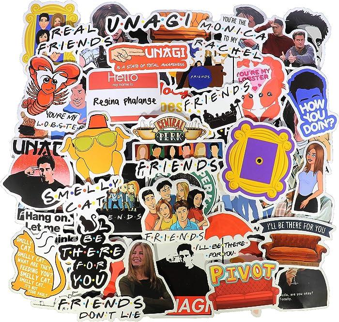 Top 9 Laptop Sticker Friends Tv Show