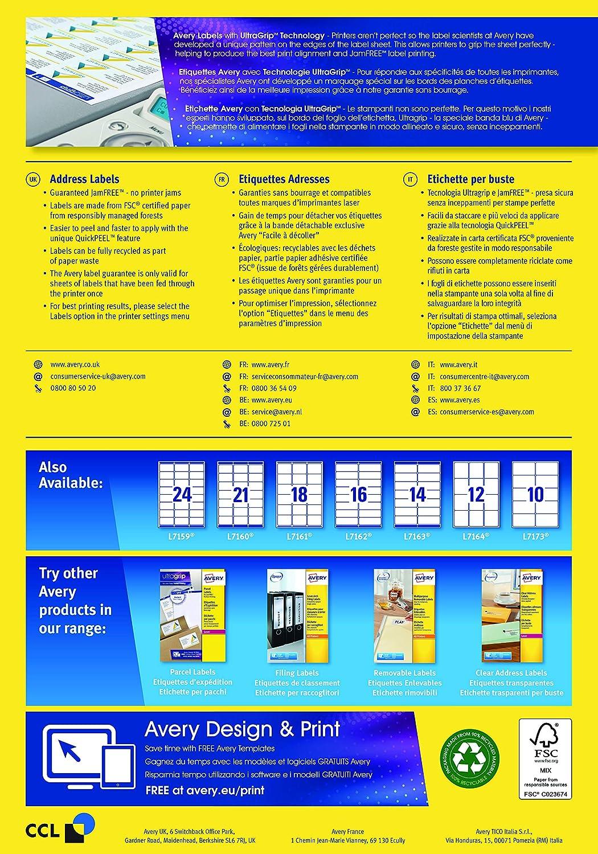 avery self adhesive address mailing labels amazon fba barcode