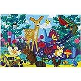 eeBoo Life on Earth Puzzle, 100 pieces