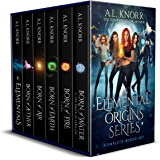Elemental Origins: The Complete Series Bundle: (Water, Fire, Earth, Air, Aether, Ensemble Novel) (English Edition)