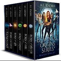 Elemental Origins: The Complete Series Bundle: (Water, Fire, Earth, Air, Aether, Ensemble Novel) (The Elemental Origins…