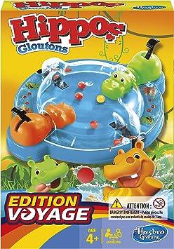 Hasbro Gaming Tragabolas, Juego de Viaje, versión en francés (Hasbro B10011010): Amazon.es: Juguetes y juegos