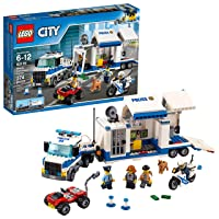 LEGO City Police Mobile Command Center Truck 60139 Building Toy, Action Cop Motorbike...