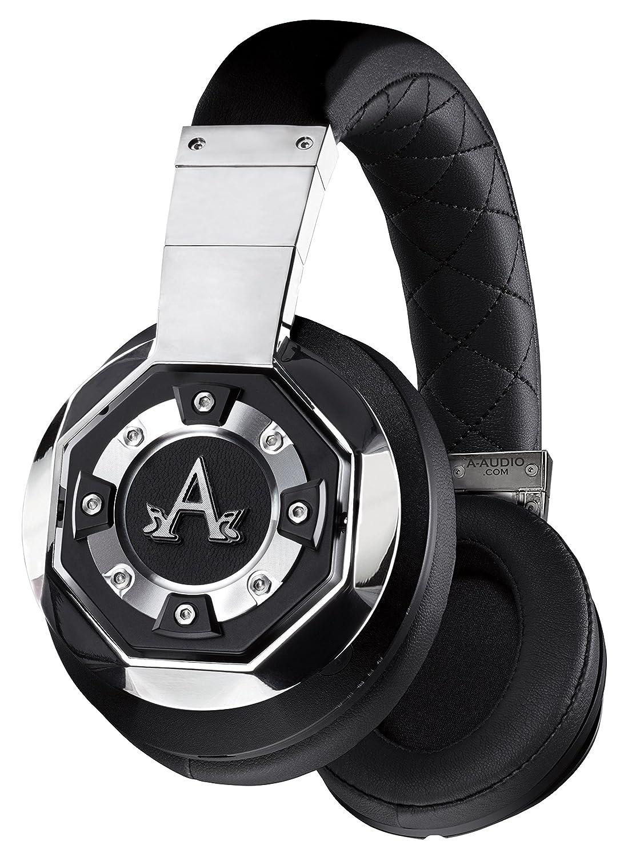 A-Audio A21 Over Ear Wireless Bluetooth Headphones, Chrome