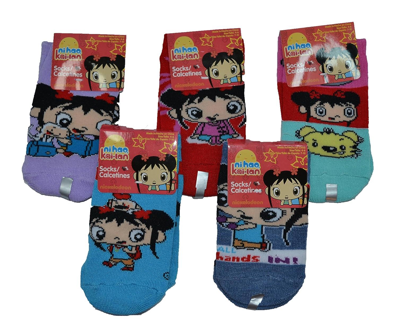 Amazon.com: Ni Hao Kai-Lan Socks - Size 4-6-Shoe Size 7-10 New: Toys & Games