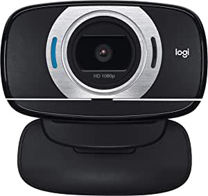Logitech 960-000738 Portable HD Webcam C615,Black