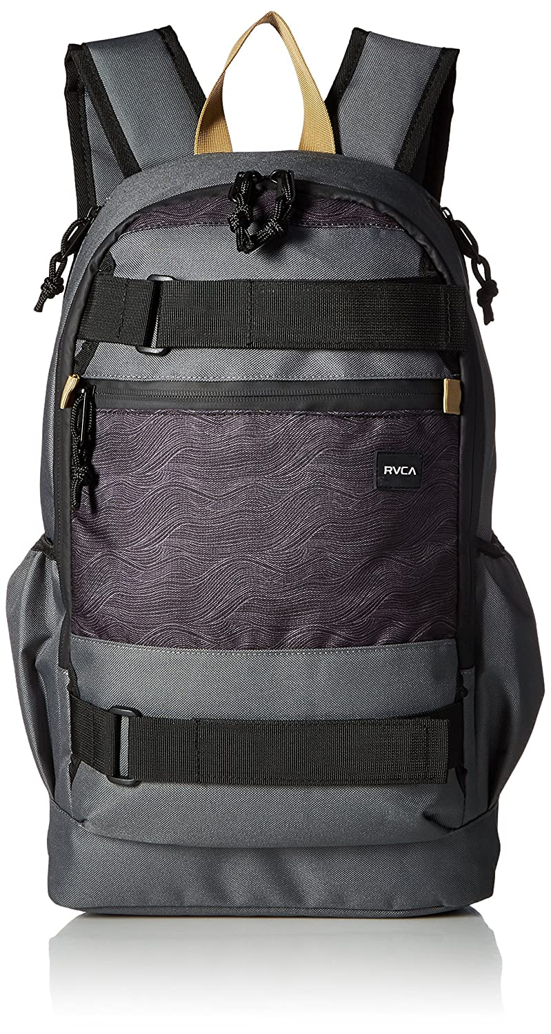 RVCA Unisex Push Skate Deluxe Backpack black/smoke One Size MKABKPSD