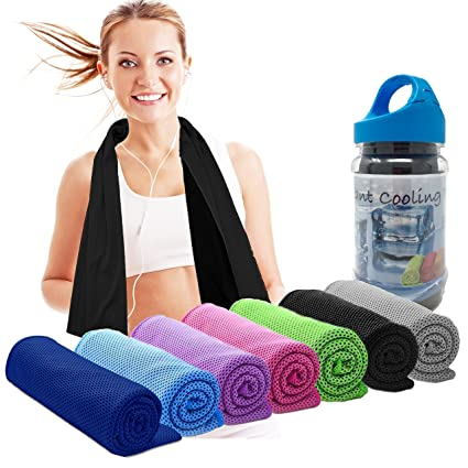 Amazon Com Elite Trend Cooling Towels And Neck Wrap Cold Neck