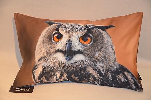 Proflax funda de cojín Hedwig | grafito/natural - 30 x 50 ...