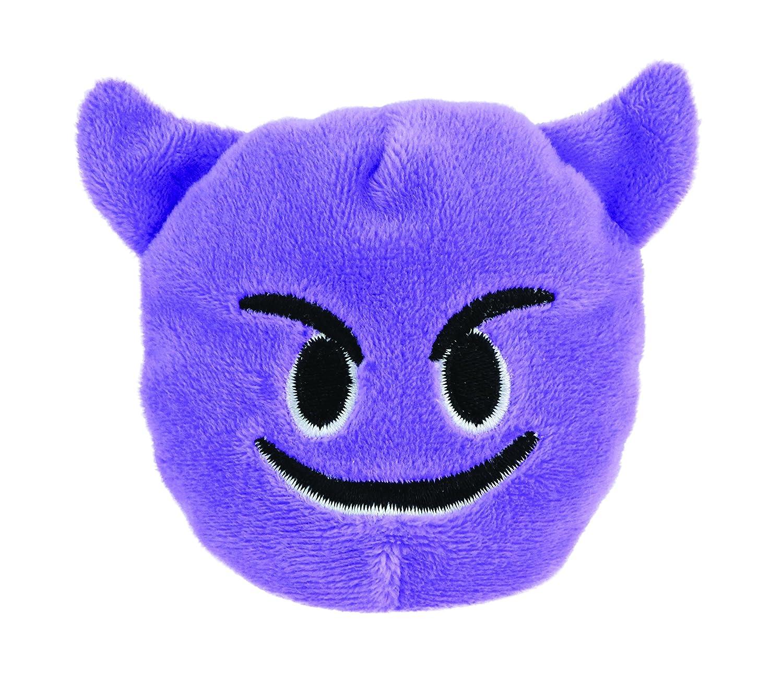 Emoji Beanbag - Smiling Face with Horns Plush Kids Preferred 30373