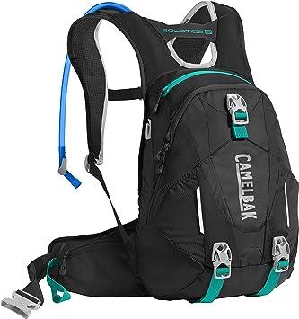 CamelBak Solstice de la Mujer 10 LR - Mochila de hidratación, Mujer, Black/Columbia Jade: Amazon.es: Deportes y aire libre