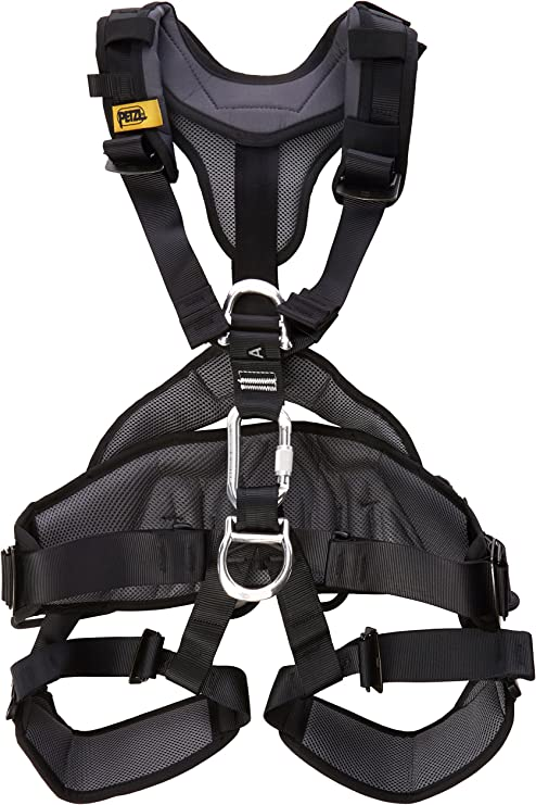 PETZL Avao BOD C71AAA 1 - Arnés de Escalada, Color Negro: Amazon ...