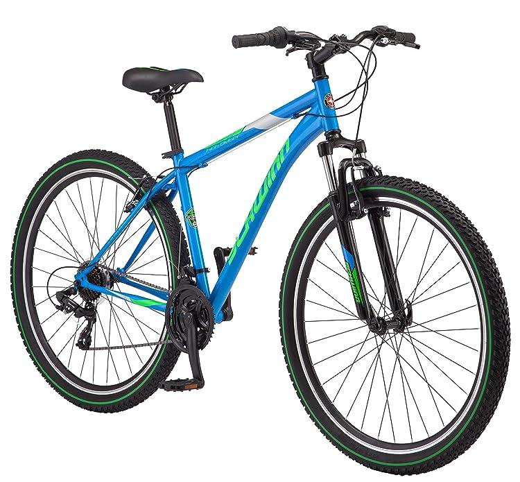 "Schwinn High Timber Men's Mountain Bike 29"" Wheel, 18"" Medium Frame Size Blue"