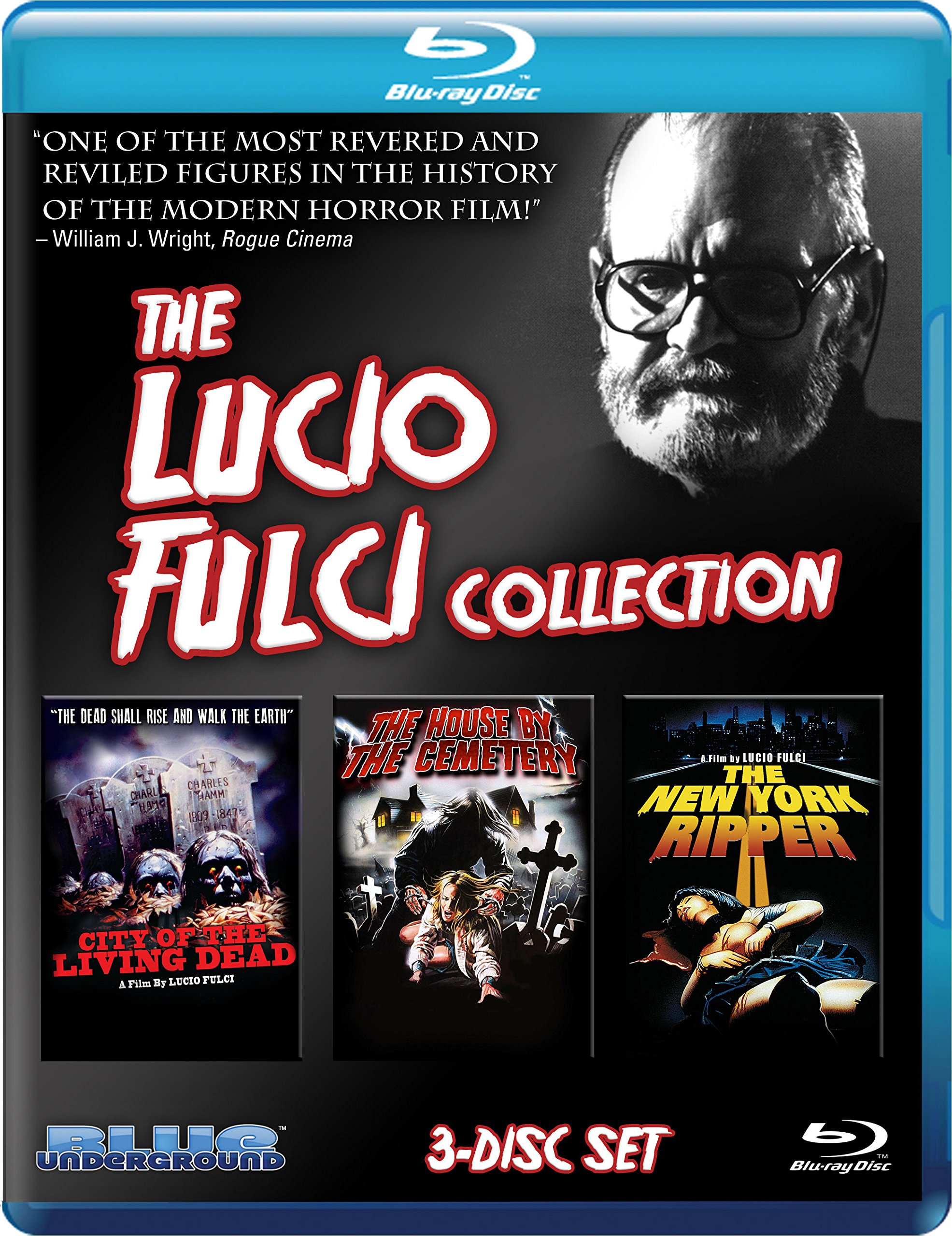 Lucio Fulci Collection, the (Blu-Ray)