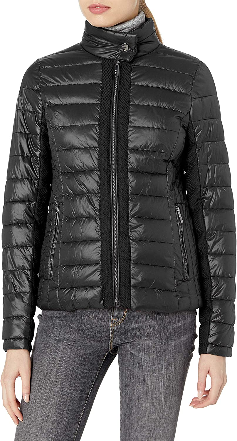 Marc New York Performance womens Packable Jacket With Mesh Insets