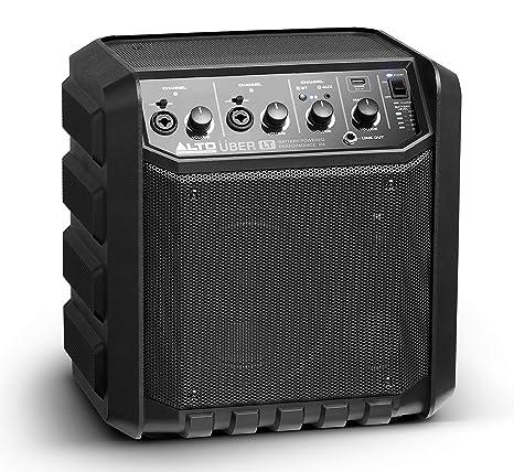 ALTO Professional UBER LT - Altavoz portátil (Bluetooth, 50 W, batería recargable,