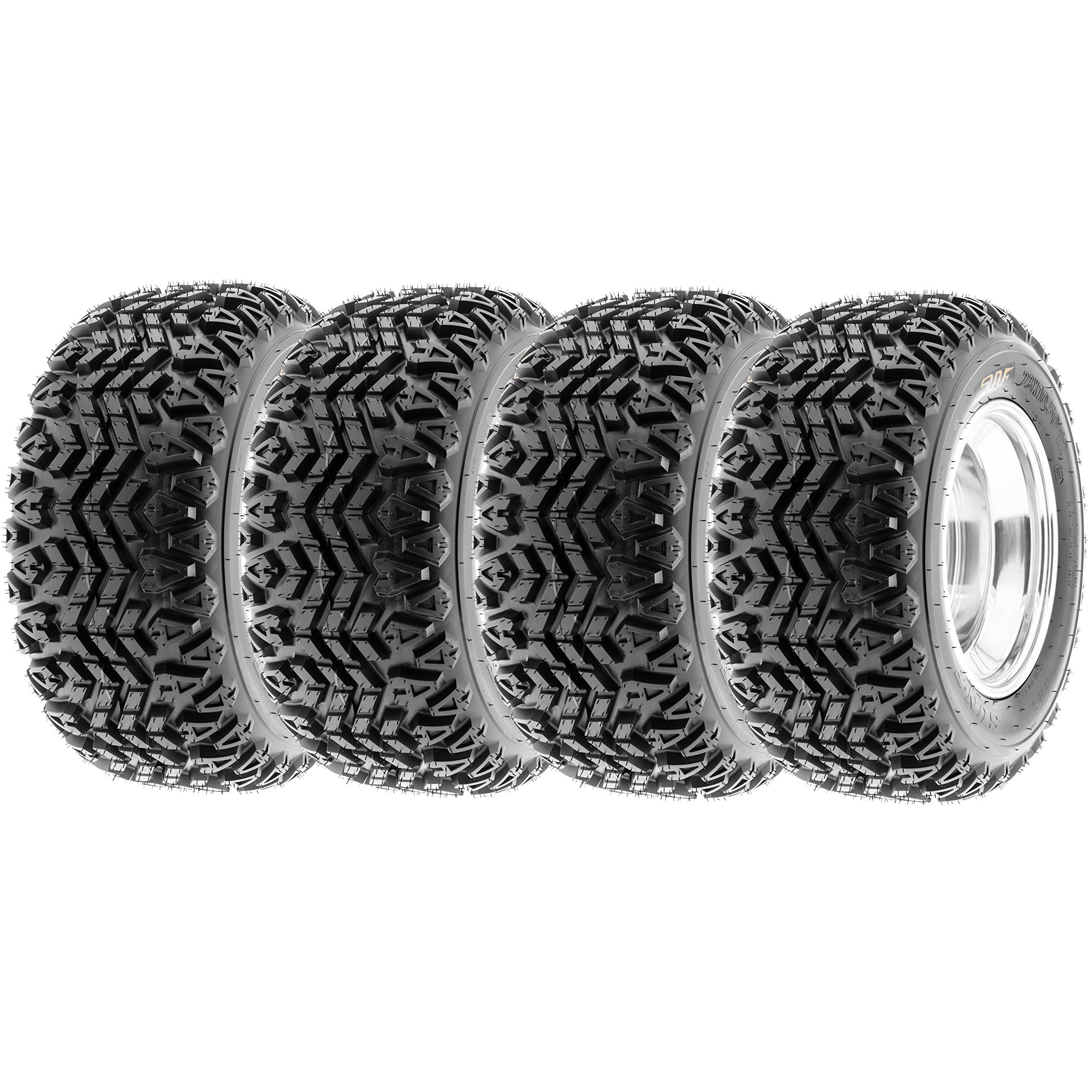 SunF All Trail ATV Tires 22x11-10 & 22x11x10 4 PR G003 (Full set of 4)