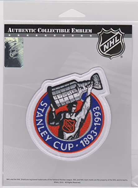 Image Unavailable. Image not available for. Color  NHL 100th Anniversary of  the Stanley Cup Trophy Patch d453e5821