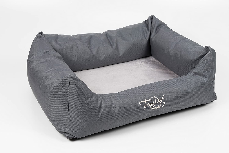 viscado 100 cm gris - Almohada ortopédica Perros cama con colchón reversible Viscoelástica: Amazon.es: Productos para mascotas