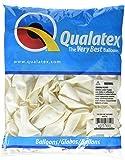 "Qualatex Latex Balloons 43712, 9"", White"