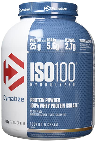 dymatize iso 100 hydrolyzed whey protein isolate review