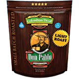 2LB Don Pablo Colombian Decaf Light Roast - Swiss Water Process Decaffeinated - Light Roast Whole Bean Coffee - Low Acidity -
