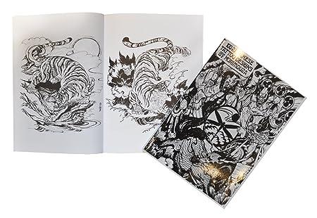 Tatuaje Flash tipo libro Art A4 - 100 japonés Designs by Horimouja ...