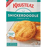 Krusteaz Snickerdoodle Cookie Mix, 17.5-Ounce Boxes (Pack of 12)
