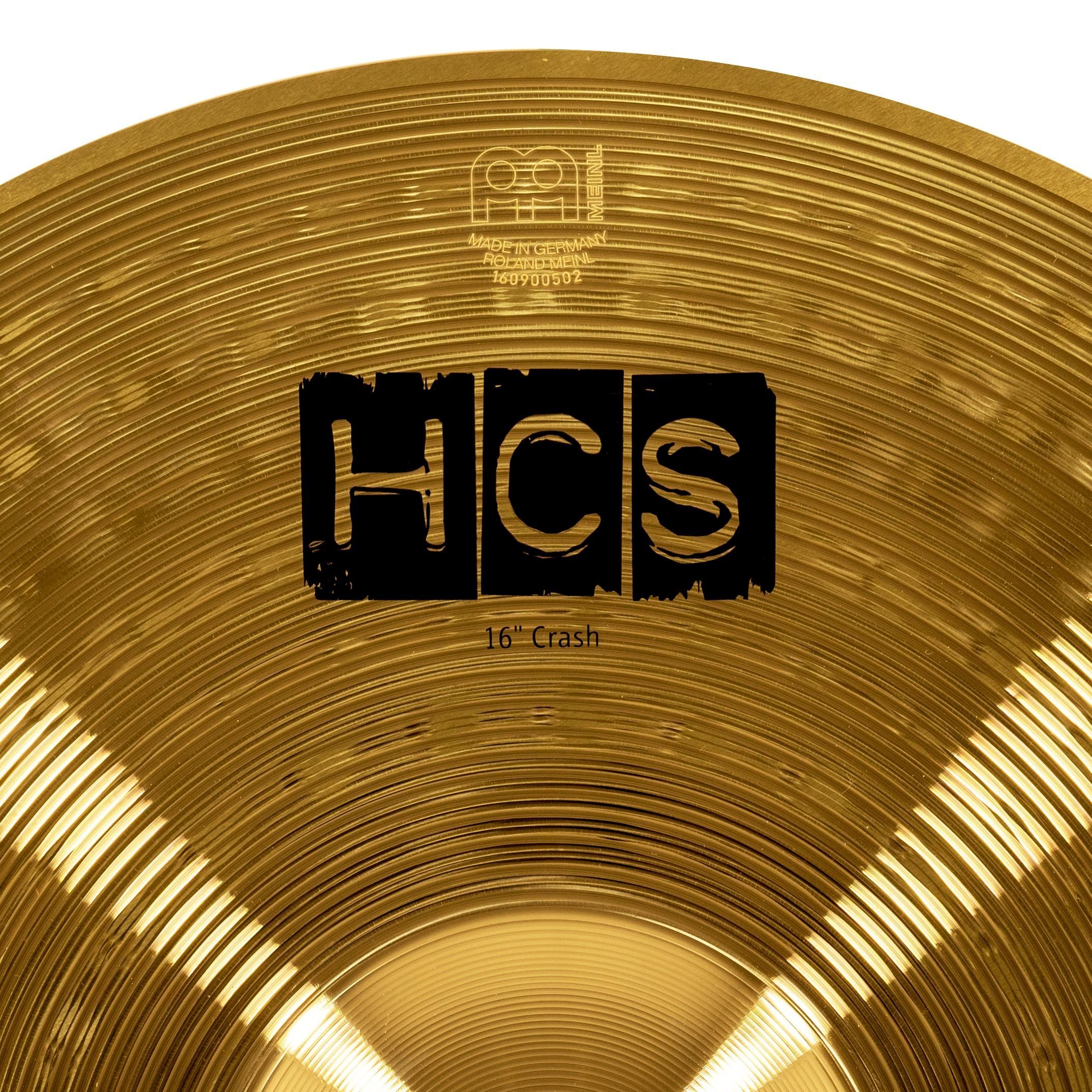 Meinl Cymbals HCS16C 16'' HCS Brass Crash Cymbal for Drum Set (VIDEO) by Meinl Cymbals (Image #4)