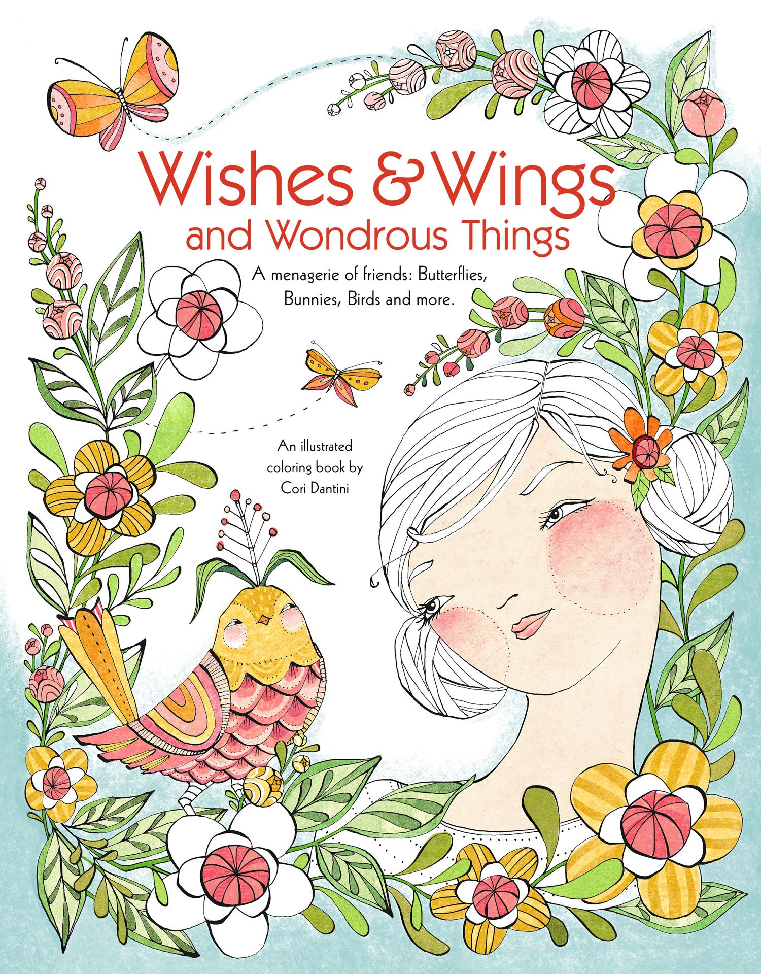 Amazon Wishes Wings And Wondrous Things Coloring Book A