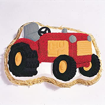 Amazon Wilton Tractor Pan Novelty Cake Pans Kitchen Dining