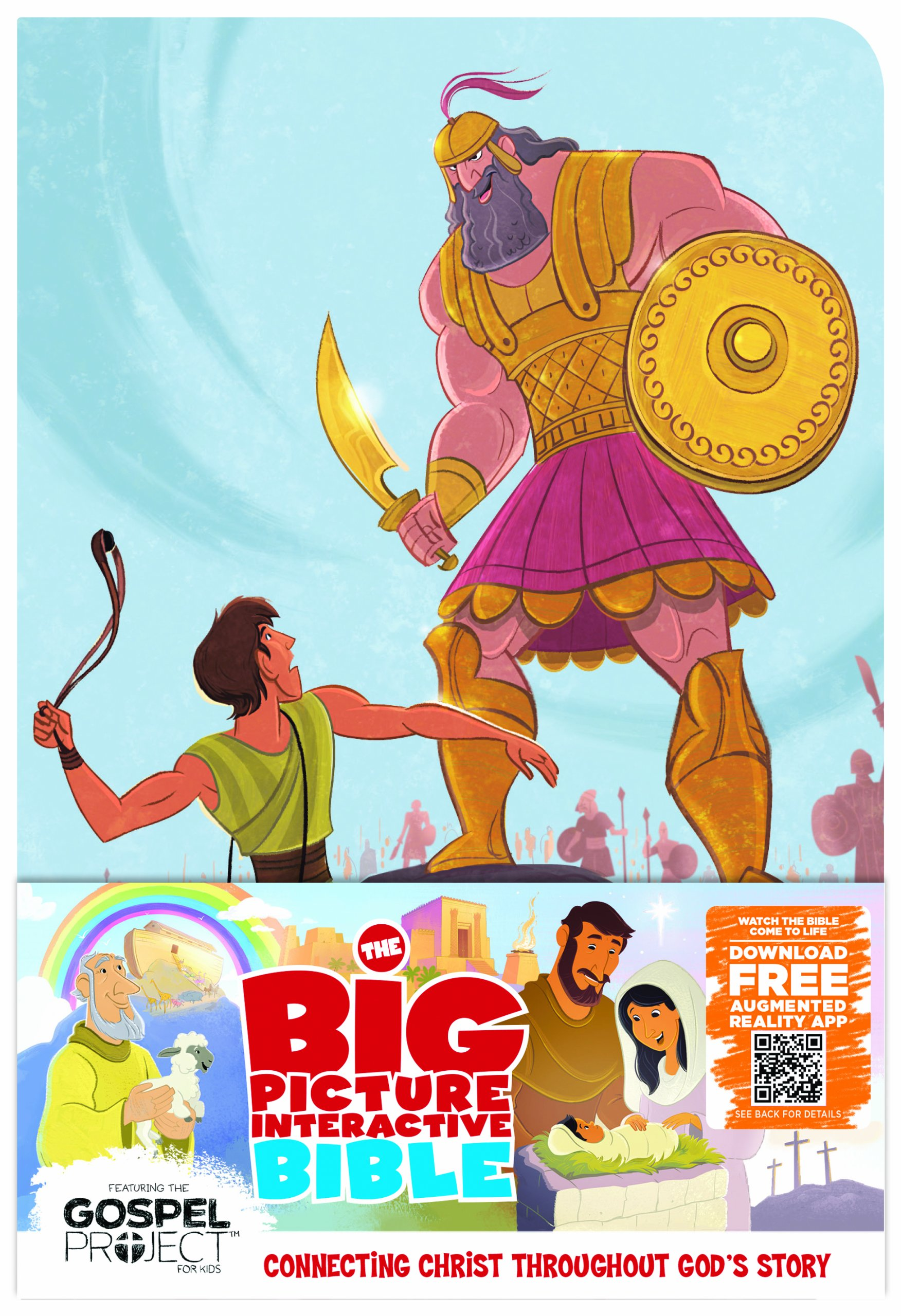 the big picture interactive bible for kids david and goliath