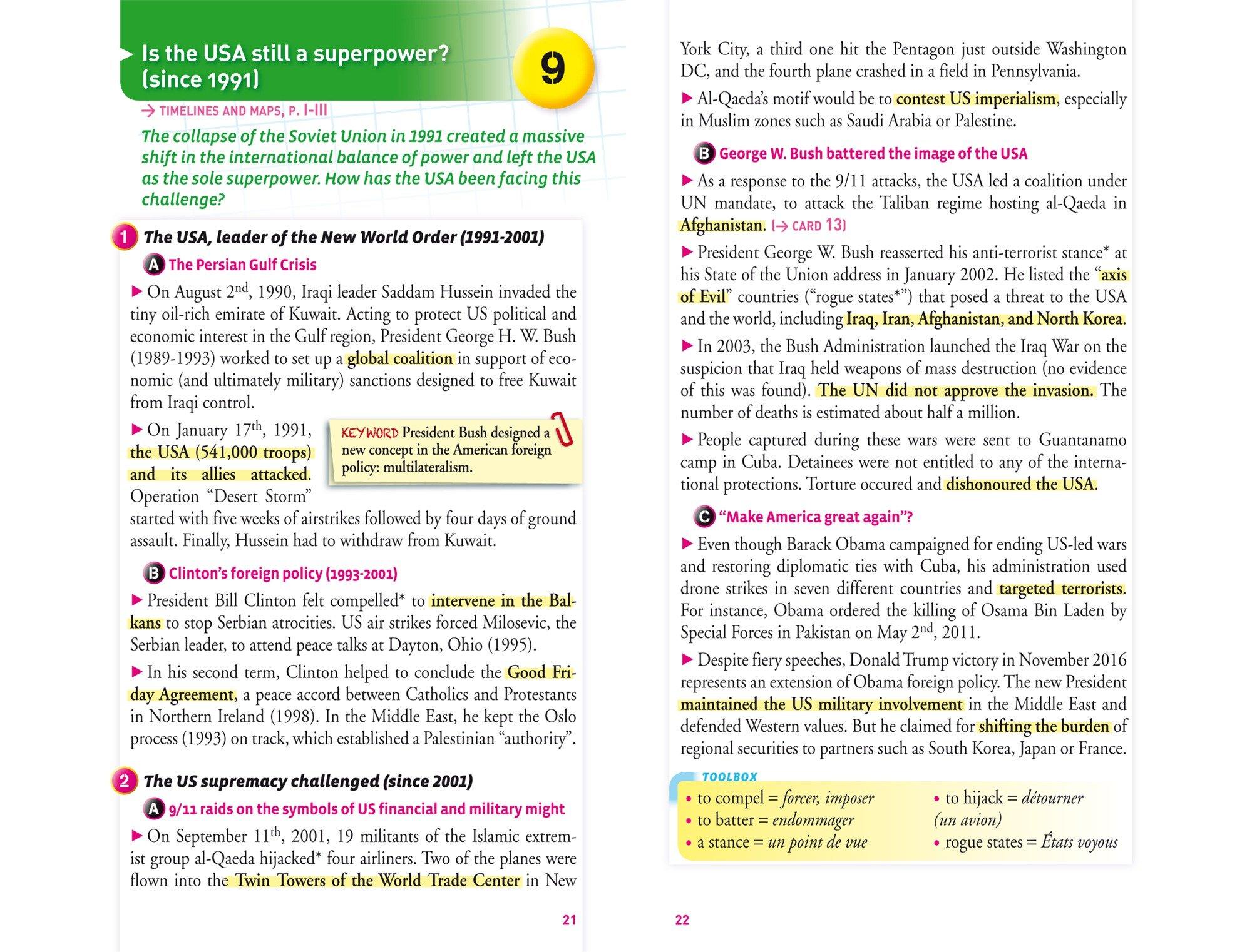 Fiches bac History & Geography Tle section européenne: fiches de révision Terminale section européenne: Amazon.es: Cécile Gaillard: Libros en idiomas ...